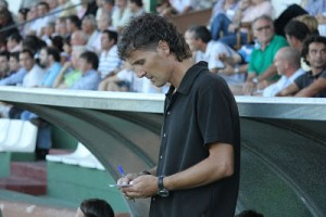 Luis Elcacho, entrenador del Formentera.