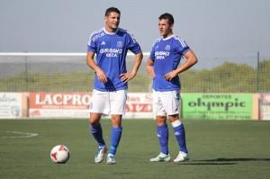 Ramos y Salinas, hombres gol del San Rafael. Foto: Fútbol Pitiuso