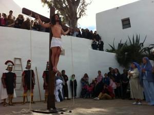 Crucifixión en el Gólgota de Puig de Missa.