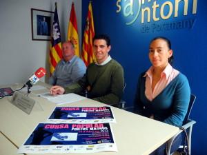La inscripció a aquesta cursa popular, presentada avui per l'Ajuntament de Sant Antoni, romandrà oberta fins demà, 11 d'abril.