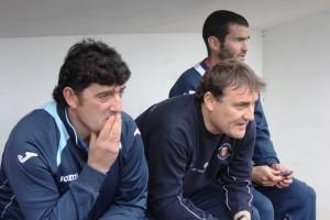 Mario Ormaechea, entrenador de la Peña, se enfrentó a su ex equipo. Foto: Fútbol Pitiuso