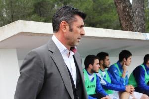 Vicente Román, entrenador del San Rafael. Foto: Fútbol Pitiuso
