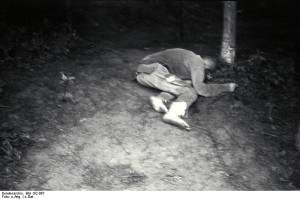 Presoner disparat i mort a Mauthausen.