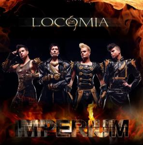 Los nuevos Locomía, con un look de guerreros glam. Foto: locomia.com