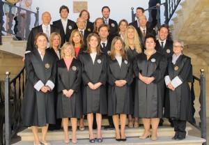 Los nuevos secretarios judiciales de eivissa juran su for Oficina judicial murcia