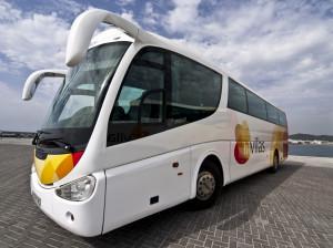El portavoz de la empresa de autobuses H. F. Vilás ha criticado la gestión del CETIS por parte del Ayuntamiento de Vila y del Consell Insular d'Eivissa.  Foto: hfvilas.es
