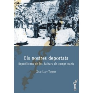 Portada del llibre 'Els nostres deportats'.