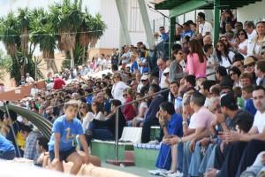 En Santa Eulària hubo unos 1.200 espectadores. En el Artés Carrasco se esperan a 4.000 aficionados.