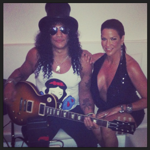 Slash Files for Divorce From Perla Ferrar After 13 Years ... |Perla Hudson Instagram