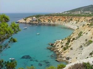 Imagen de Cala d'Hort. Foto: Eivissaweb.