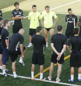 La Peña Deportiva regresa hoy a los entrenamientos de cara a la temporada 2013/14. Foto: Fútbol Balear