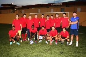 Los catorce jugadores que el pasado 16 de agosto iniciaron la pretemporada con sa deportiva.