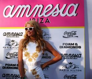 Paris Hilton ha sido una de las grandes protagonistas del verano en Amnesia.