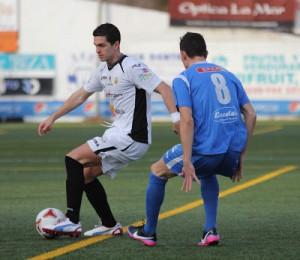 Pau Pomar, en una imagen de archivo, fue el autor del primer gol en la Liga de la Peña.