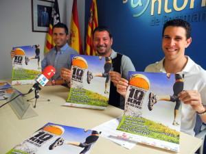 El Ayuntamiento de Sant Antoni pretende batir el récord de participantes del año pasado, fijado en XXX corredores.