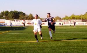Salinas, autor de los dos goles de la Peña