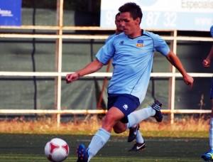 Iván Guzmán debutó este sábado en partido oficial en las filas del conjunto barcelonés.