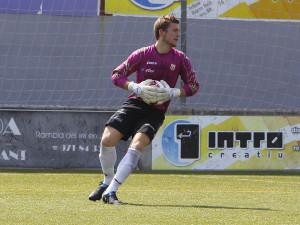 Javier Seral es un auténtica garantía en la portería de la Peña Deportiva.