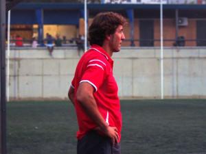 Patxi Salinas, entrenador del conjunto catalán de Segunda División B.