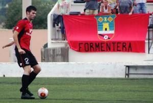 La defensa del Formentera ha recibido seis goles en dos partidos de Copa ante el Mallorca B