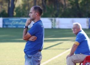 Joan Mas, entrenador del Campos, parece que no ve muy claro el encuentro ante el San Rafael.