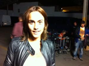 Megan Montaner, recuerden ese nombre y este rostro. Foto: D.V.