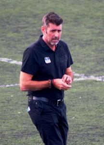 Vicente Román, entrenador del San Rafael, en una imagen de archivo.