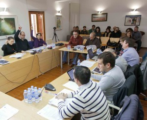Imatge del ple de l'Executiu de Formentera.  Foto: Consell Insular de Formentera