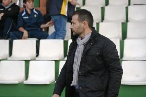 Celestino Prieto, entrenador del Atlético Rafal.