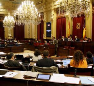 Sede del Parlament Balear en Palma de Mallorca.