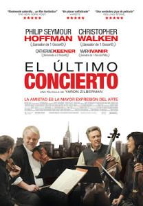 Cartel de 'El último concierto' de Yaron Zilberman, título con el que arranca el ciclo 'Anem al cine' en 2014.