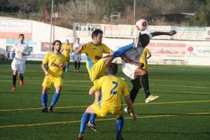 Ayrton fue el autor del cuarto gol de la Peña en el encuentro aplazado de la 15ª jornada.