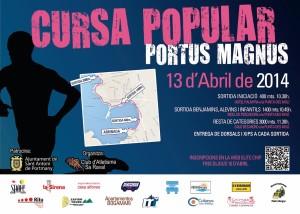 Cartel de la Cursa Popular Portus Magnus.