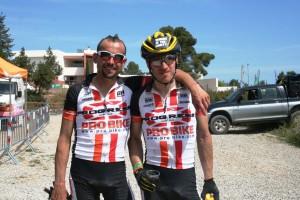 Josep Betalú e Ibon Zugasti son los nuevos líderes de las Vuelta a Ibiza en Mountain Bike.