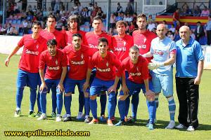 Un once inicial del Club Polideportivo Villarrobledo de esta temporada. Fotos: www.cpvillarrobledo.com