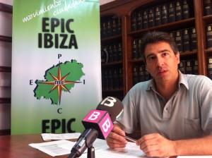 Antonio Villalonga, concejal de Epic en el Ayuntamiento de Ibiza. Foto: D.V.