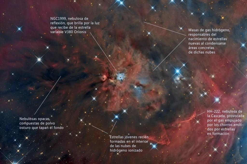En la imagen, la fotografía obtenida por la Agrupación Astronómica de Eivissa. Foto: AAE