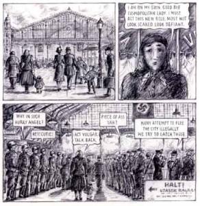 Las protagonistas consiguen burlar el cerco nazi para escapar de Budapest.