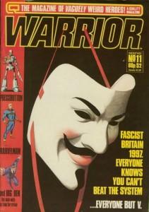 Los primeros capítulos de la saga se publicaron en el magazine británico Warrior hasta la cancelación de la revista.