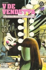 Portada del numº 1 de la edición individual española por parte de la añeja Ediciones Zinco.