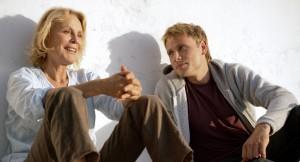 Marthe Keller y Max Riemelt, los dos protagonistas de 'Amnesia', la nueva película de Schroeder.