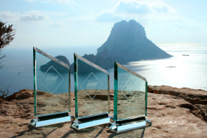 Imagen de los galardones del certamen Ibiza Design Awards.