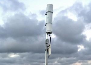 Un medidor de la calidad del cielo instalado en Sant Jordi. Foto: AAR
