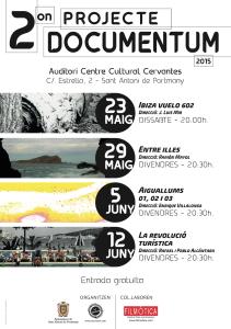 En la imagen, el cartel de este ciclo de documentales de cineastas ibicencos.