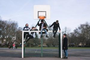 El quinteto The Bulletproof Bomb en una imagen promocional.