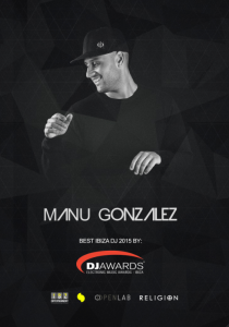 El DJ ibicenco, Manu González.