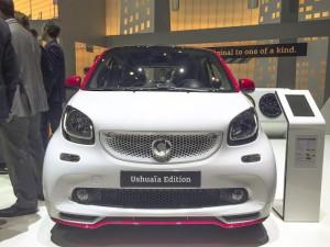 Mercedes-Benz España y Ushuaïa Ibiza Beach Hotel presentan en el Salón del Automóvil de Ginebra el nuevo Smart edición limitada