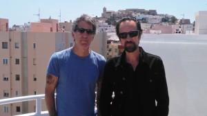 Mikel Erentxun y Diego Vasallo, los dos integrantes originales de Duncan Dhu.