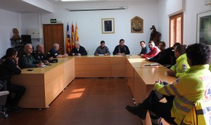Reunión en el Consell de Formentera para analizar el funcionamiento del sistema de geolocalización.