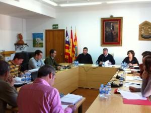 Imagen de archivo de un pleno del Consell de Formentera